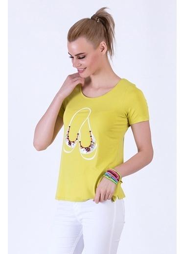 WHIP Design Bluz Sarı
